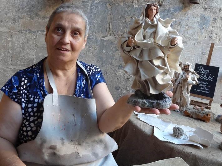 Cartapesta Lecce Papermache Art Lecce Local Artisan Baldari Nativity