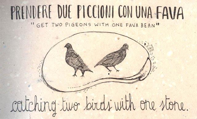 italian-for-my-girl-friend-delightful-way-learn-italian-idioms-daily-drawings