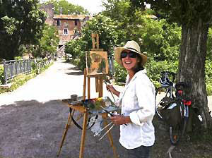rome-art-painting-italian-language-program-scudit-melissa-muldoon-kelly-medford
