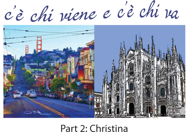 differences-milano-san-francisco-italian-podcast-Christina-americana
