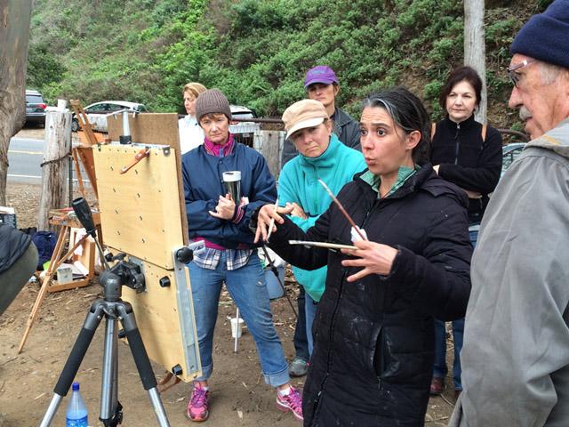 kelly-medford-artist-rome-talks-about-painting-parliamo-arte