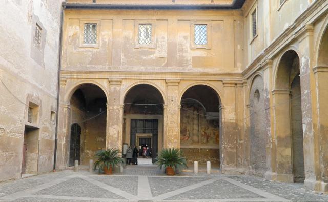 cappella-s-silvestro-chiesa-santi-quattro-coronati-rome-marina-scudit-video