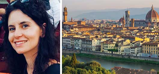 Homestay-Italian-language vacation-Florence-Roberta