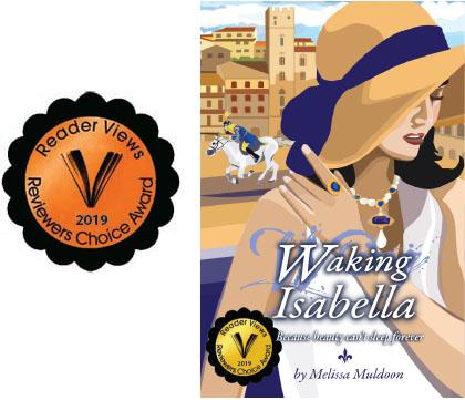 Audiobook-giveaway-waking-isabella-Melissa-Muldoon-Italy-novel-Arezzo