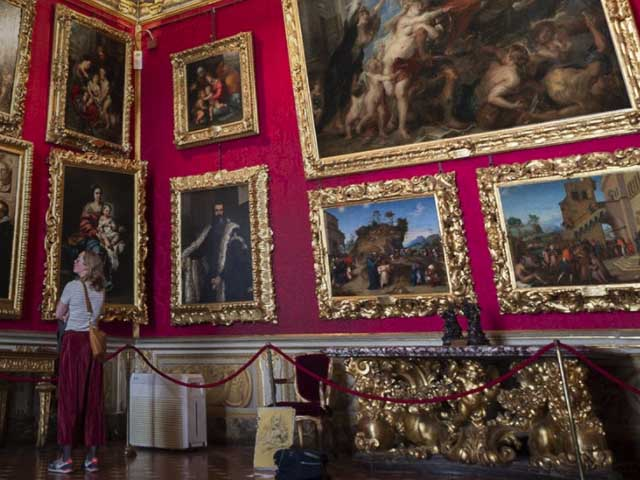 la-mia-sala-improve-italian-listening-comprehension-enjoy-art-Uffizi-Galleries-Florence