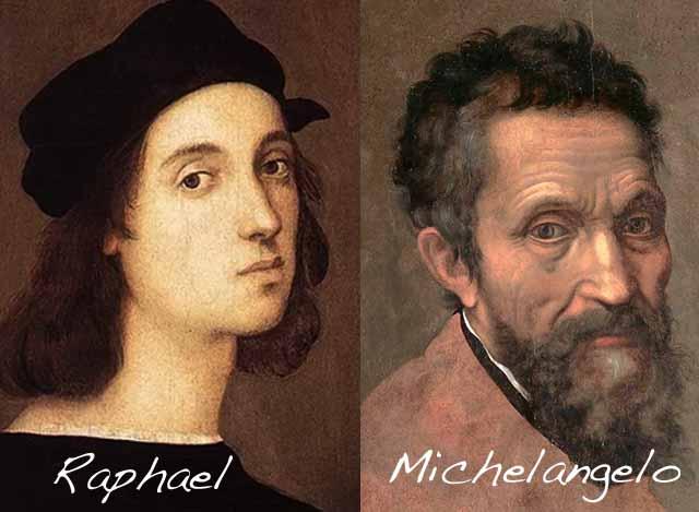 Raphael-Rafaello-School-Athens-Scuola-Atene-curiosities-rivalries