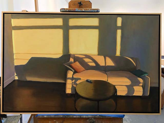 Bruce-Katz-American-Artist-Plein-Air-ordinary-San-Francisco-peanut-butter-sandwich-panino-burro-arachidi